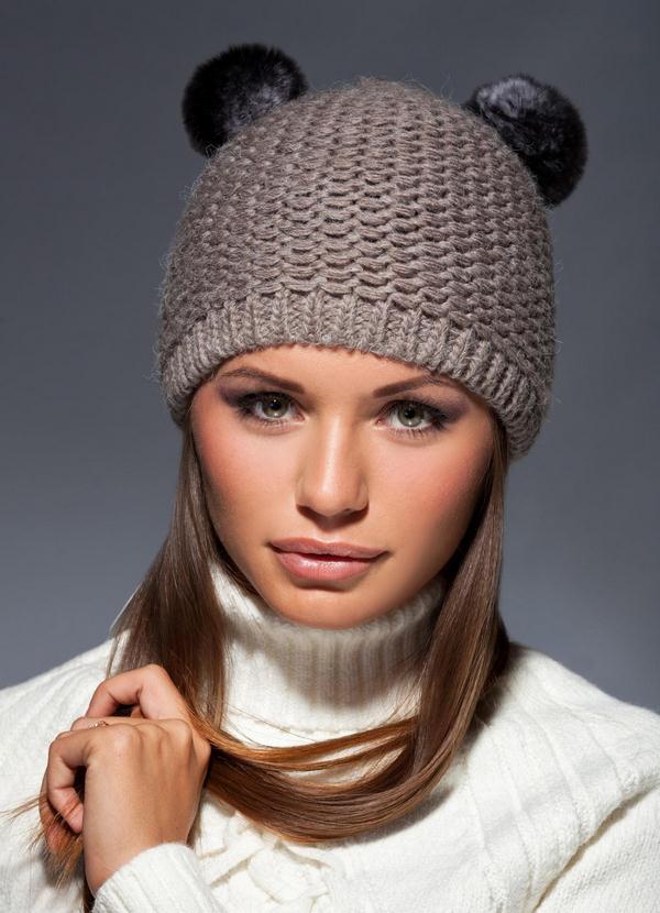 шапка с ушками - главный тренд