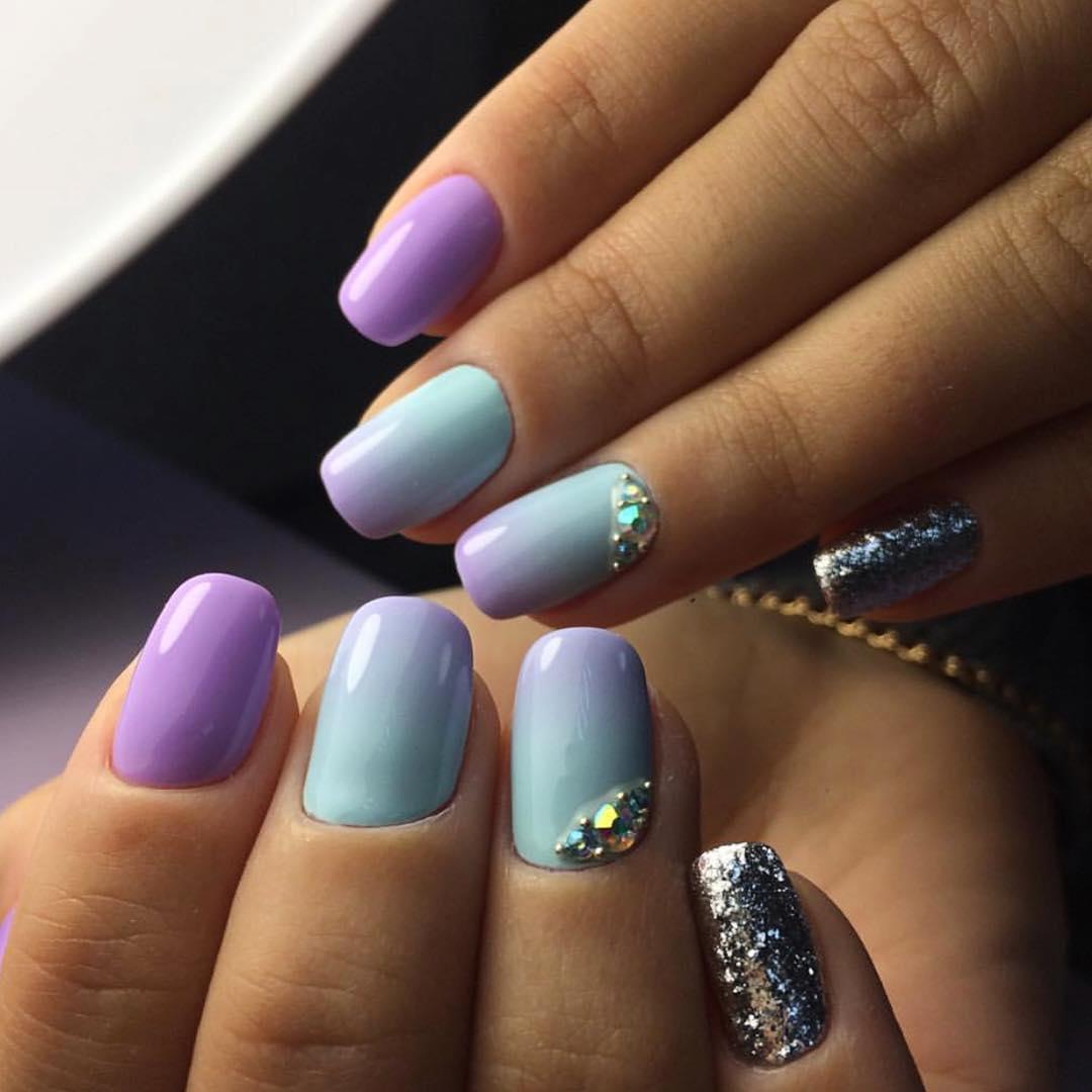 Модные новинки дизайна ногтей в 2019 году-16
