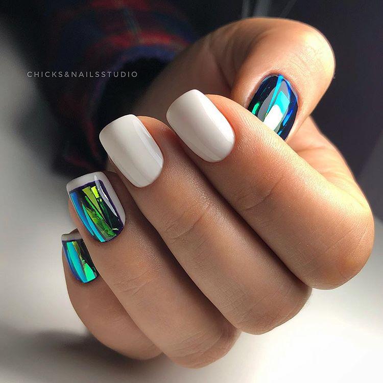 Модный дизайн ногтей 2021 года: новинки рисунков, тенденции, фото