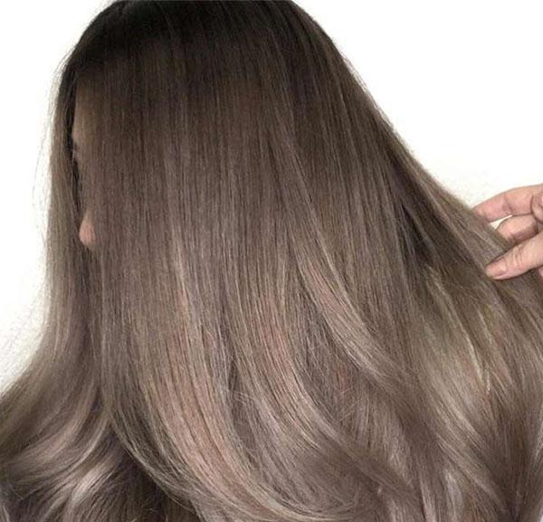 Шоколадно-серый